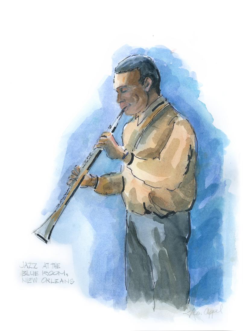 Geo Appel Jazz @ Blue Room Clarinet Man.jpg