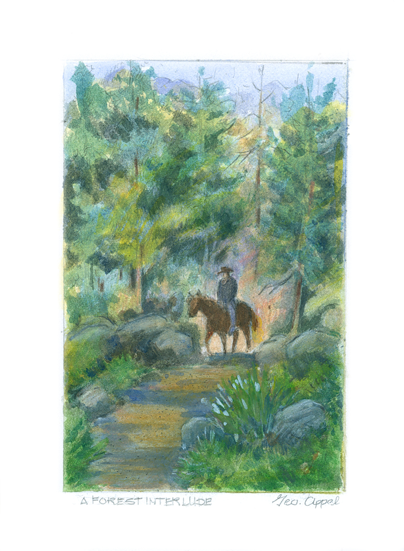 Geo Appel _A Forest Interlude_ 1 5.85x7.jpg