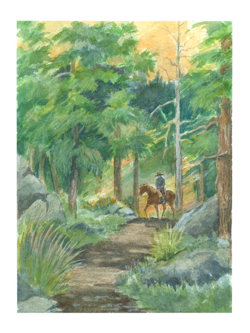 Geo Appel _A Forest Interlude_ 2 9x12.jpg