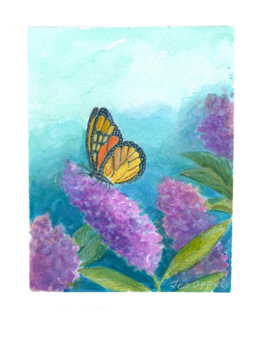 Geo Appel Butterfly on Lilacs 6.jpg