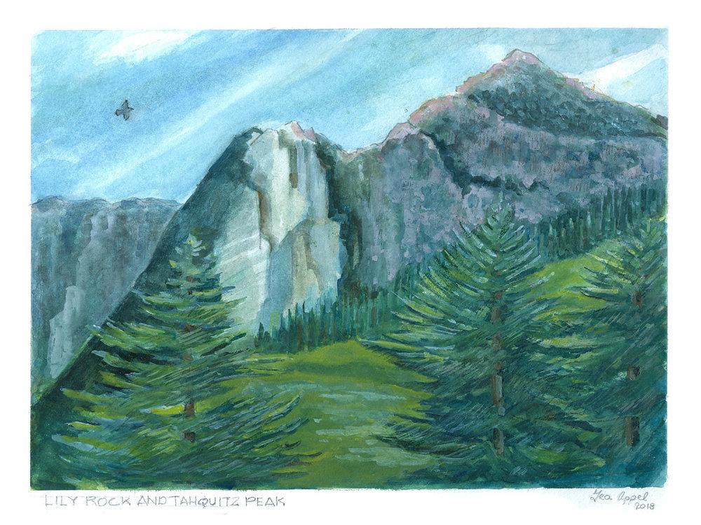 Geo Appel Lily Rock & Tahquitz Peak 9x12.jpg