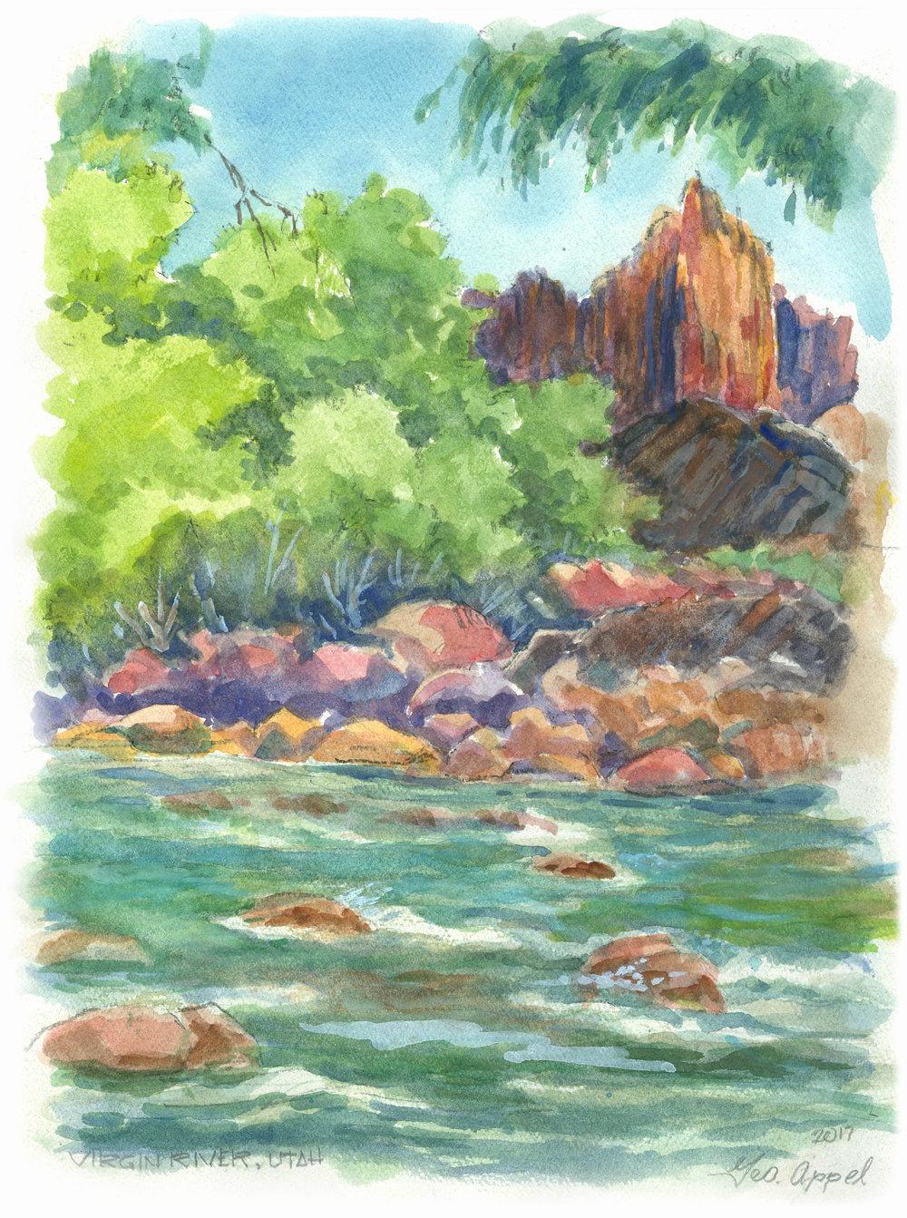 Geo Appel Virgin River, Utah 8.5 x 11.jpg