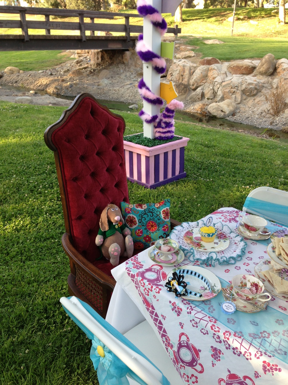 Alice's Traveling Tea Party Alice's Chair