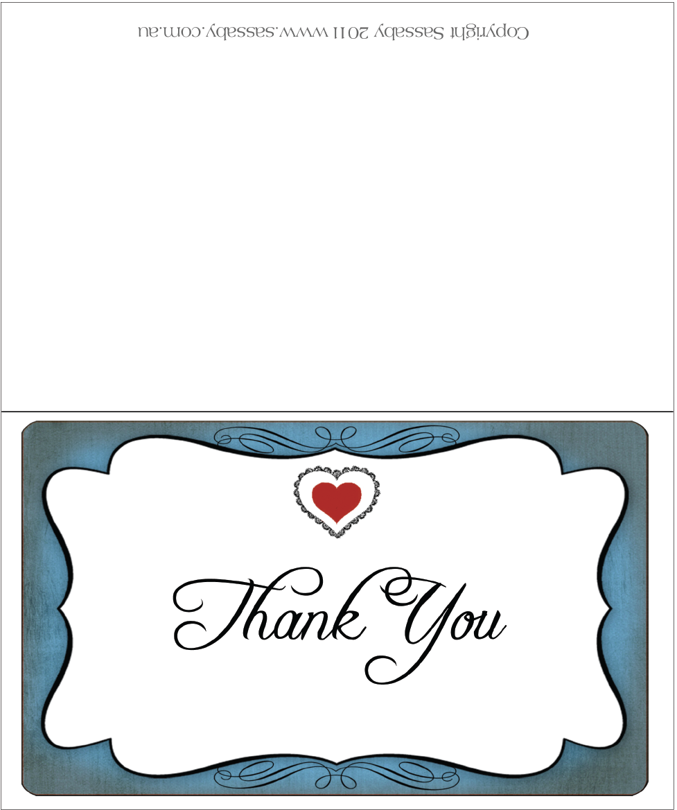 Alice's Traveling Tea Party Thank You cards