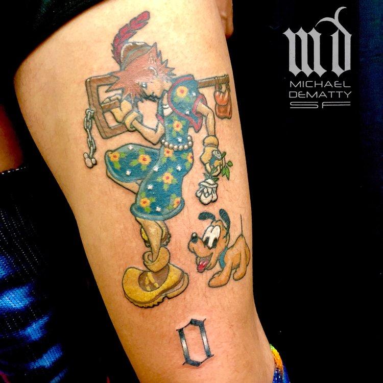 MICHAEL — Black + Blue Tattoo