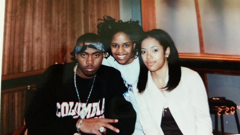 Legendary rapper Nas, Thembisa MShaka and Cha Cha when life was illmatic!
