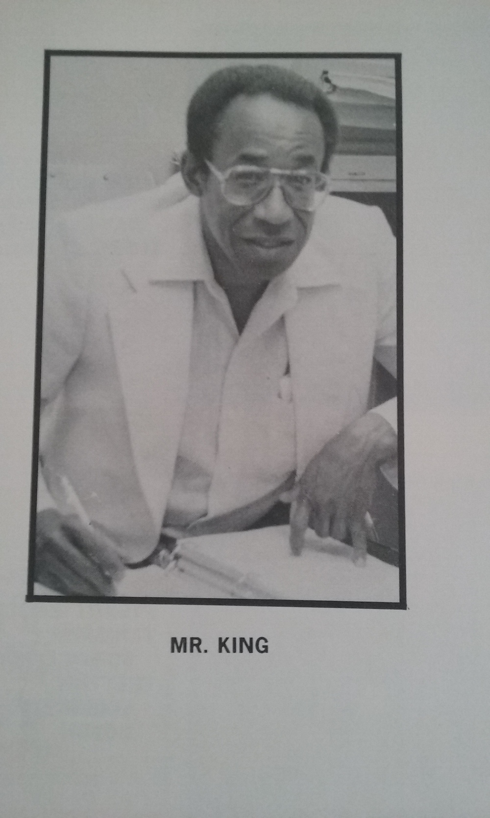 Without Mr. King, my counselor at Oceana High School there is no Bishop Chronicles. He was the first person to see a journalist in me and allow me to write about what I loved, Hip-Hop. I owe everything I have ever written and every speech I have ever given to him and Eazy E.