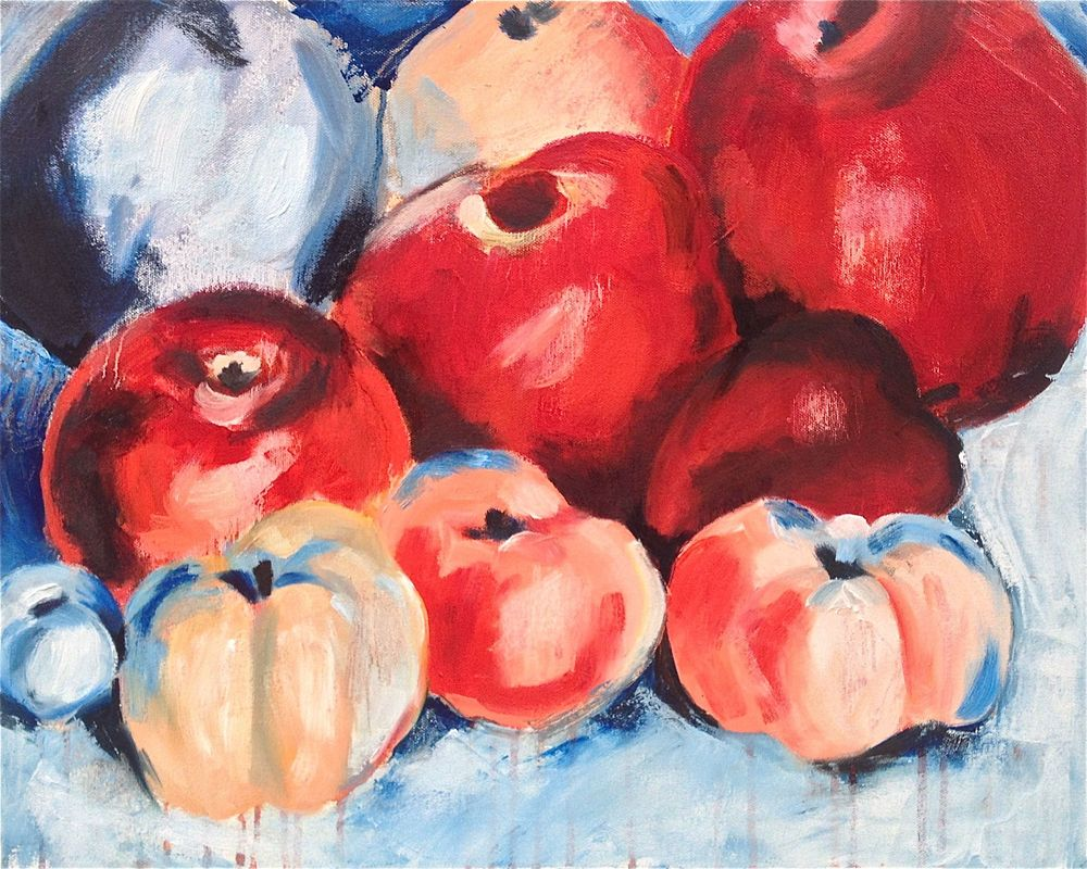 Georgia O'keefe's 'Family of Apples', NFS