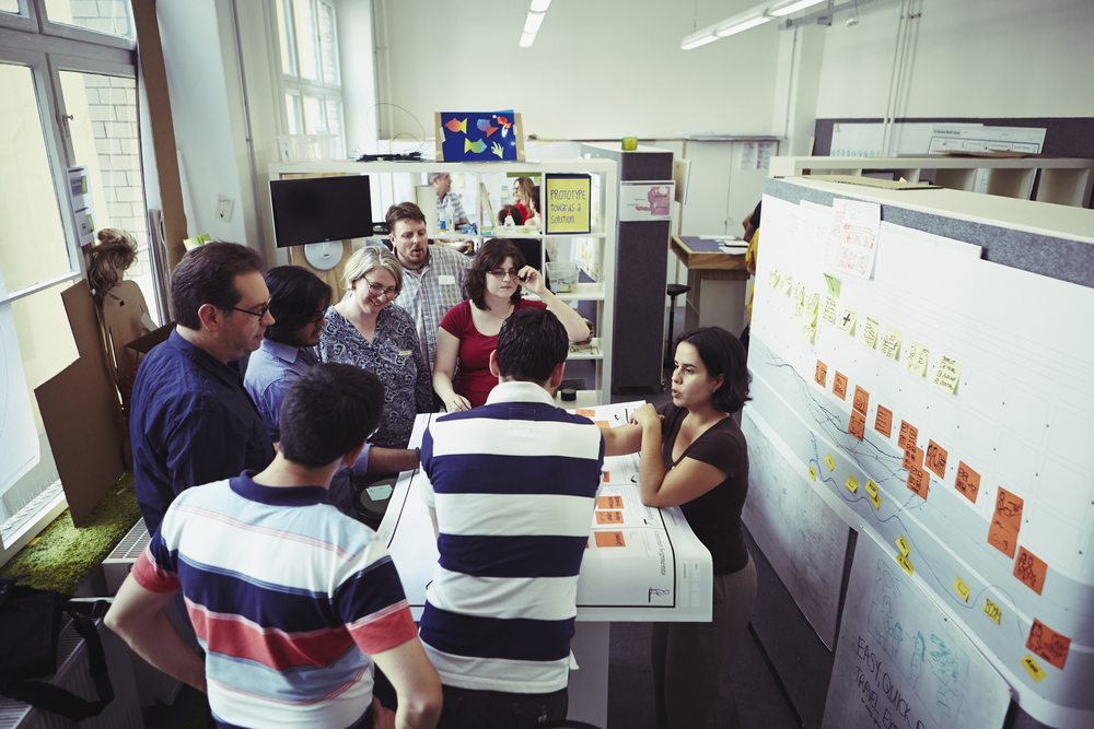 Moving from customer journey to business model. One team at This is Service Design Doing.