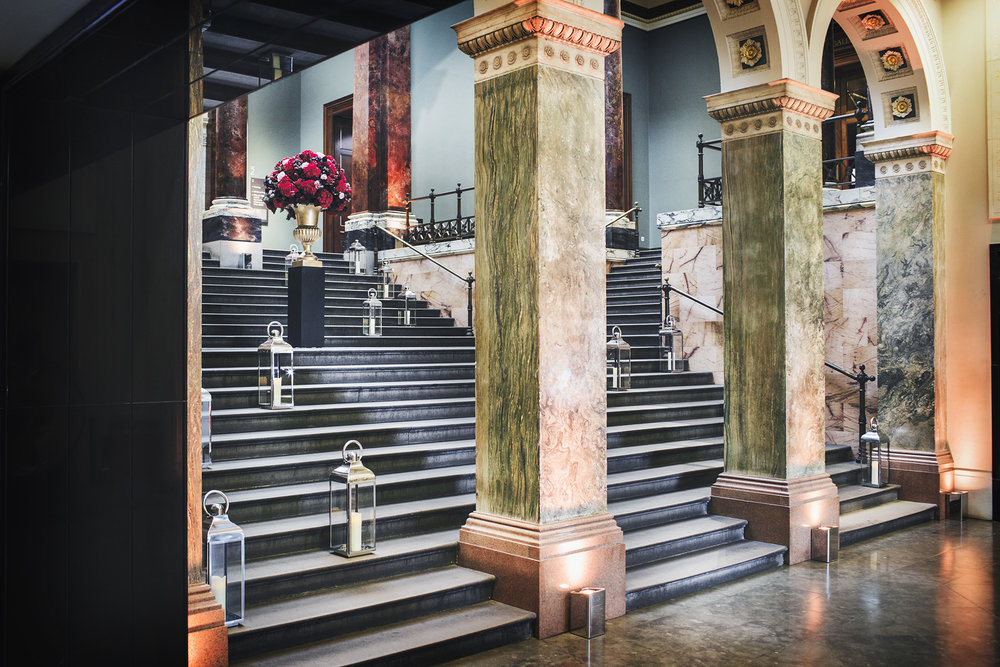 The National Gallery - The Brief : To Document key spaces for promotional campaign in order to secure future corporate event hire
