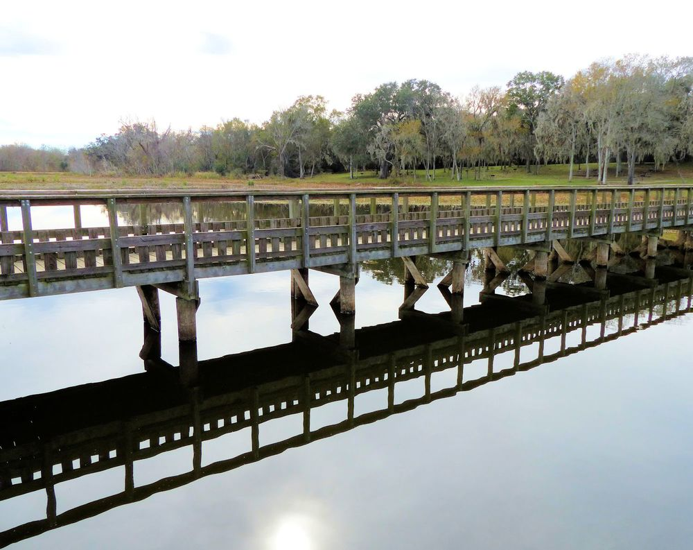 Pier at 40-acre Lake
