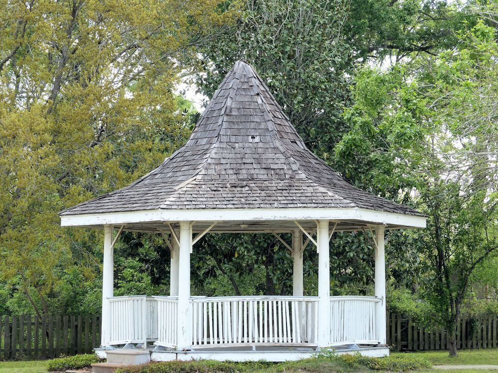 Gazebo in city park