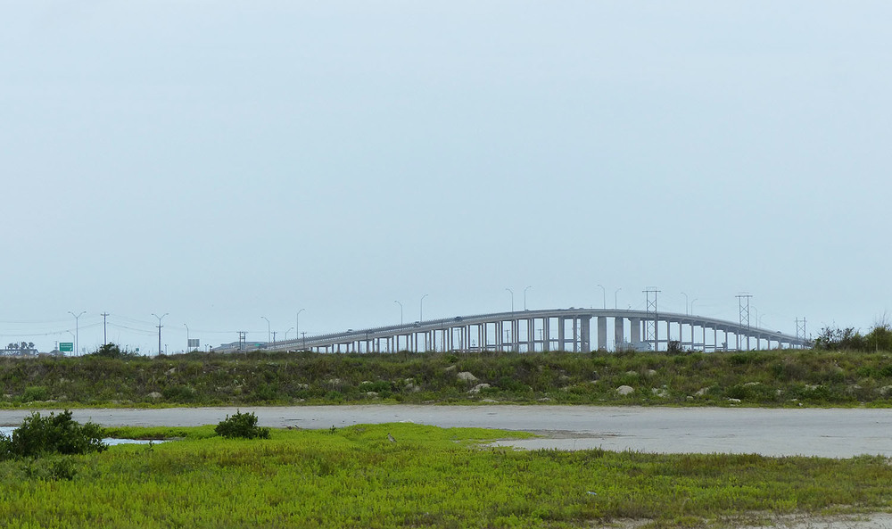 Bridge over the Intercoastal Canal near Corpus Christi