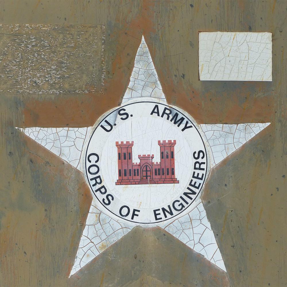 US Corp of Engineers, Tivoli, Texas junkyard