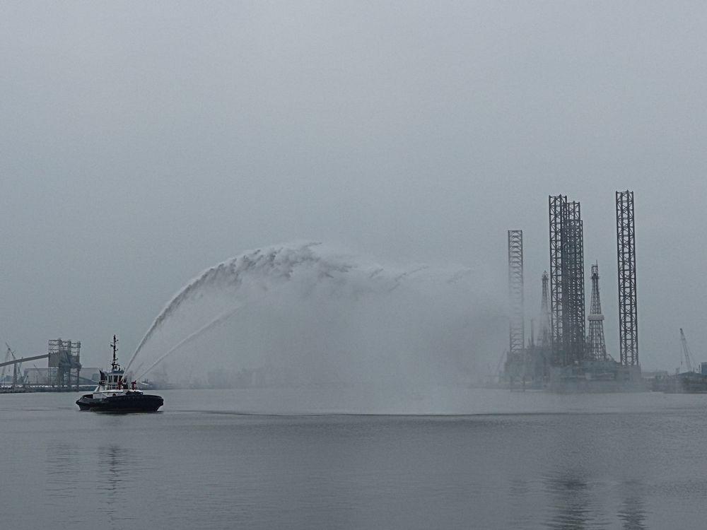Fire boat, Galveston