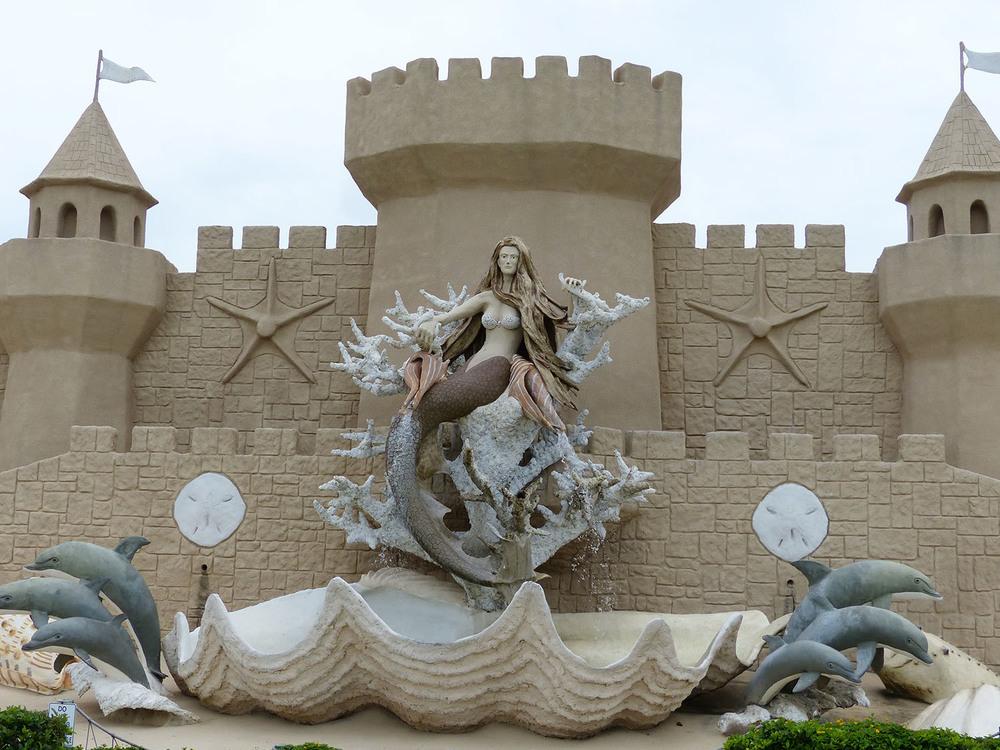 Sand castle emporium, Corpus Christi, Texas