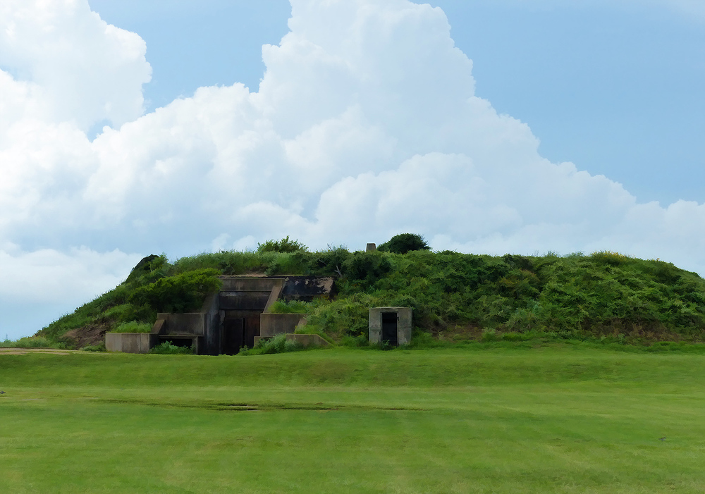 Bunker at Fort Travis