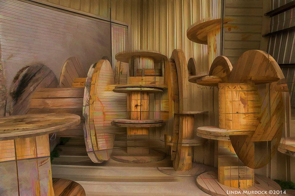 Photo Art - Spools