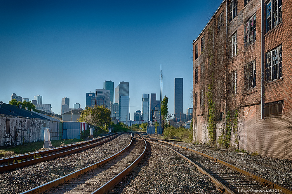 The view from the near East side of Houston Sony A77 II with 16-50mm DT  f/7.1 ISO 200 HDR