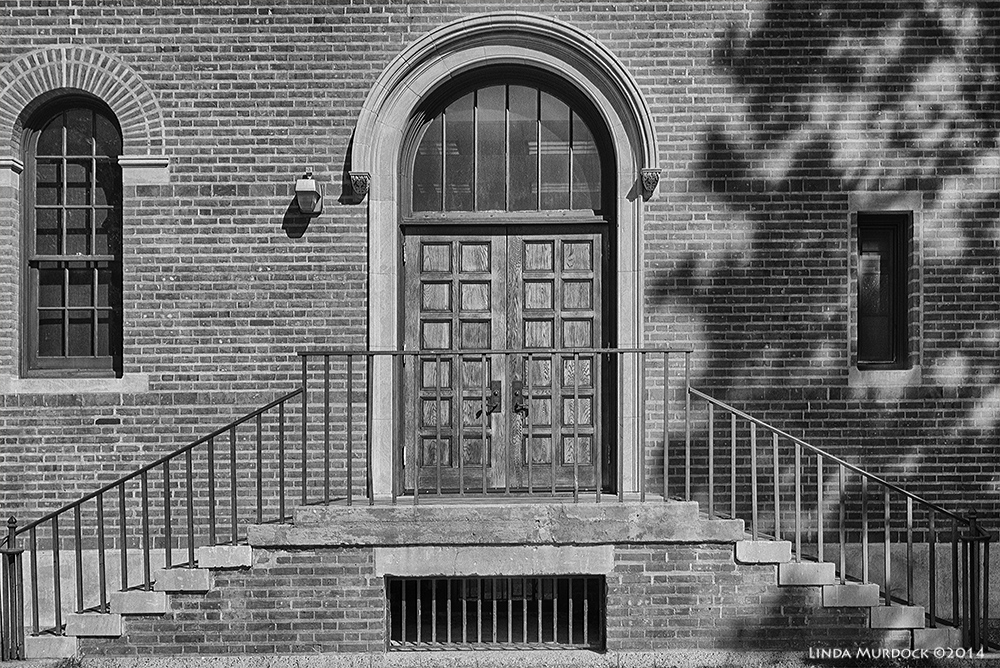 Rice University door to knowledge Sony A77 II with DT 16-50mm 1/1250 sec. f/5.6 ISO 200