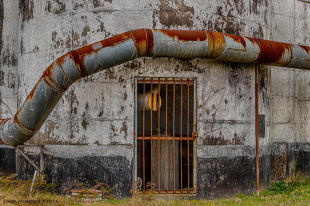 Door at the Katy Rice Mill Sony A77 II with DT 16-50mm HDR. f/5.6 ISO 200