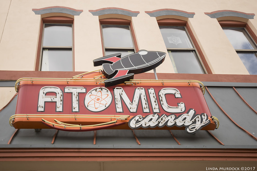 Atomic Candy store in Denton, Texas