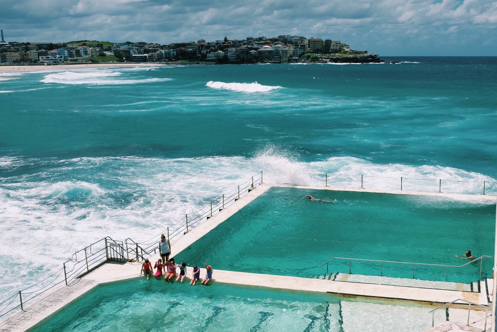 Rock Pools In Sydney Made On Water