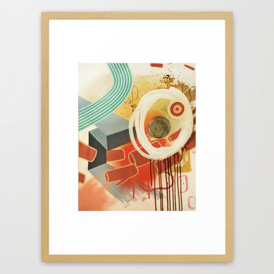 Log Stampede Framed.jpg