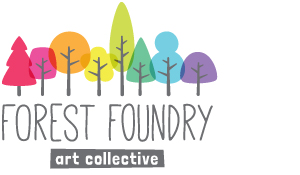 Forest Foundry  is a collective I'm part of. Collectively we do shows together like Surtex.