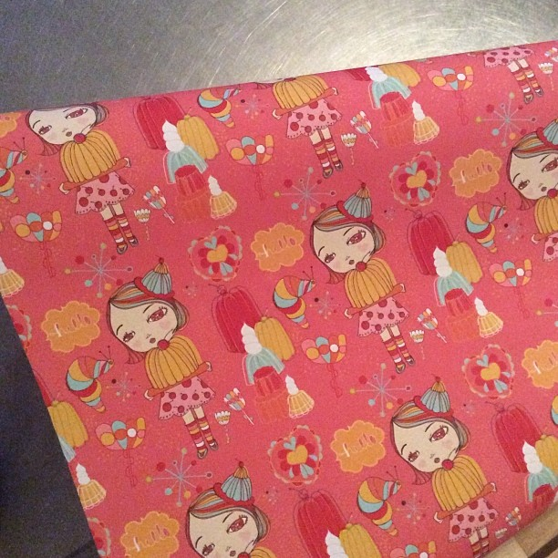 Gift Wrap From SpoonFlower
