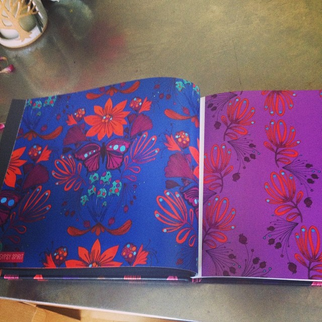 Blurb Book for Surtex 2014