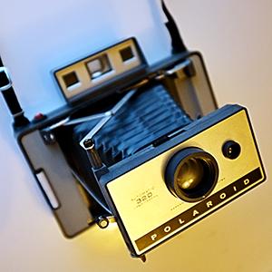 The Polaroid 320 Land Camera