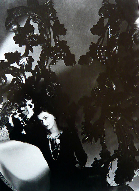 Coco Chanel photographed by Horst in 1937. Clearly this was during his 'darker' style and during the same year Vogue lectured him on not having enough light in his shots.