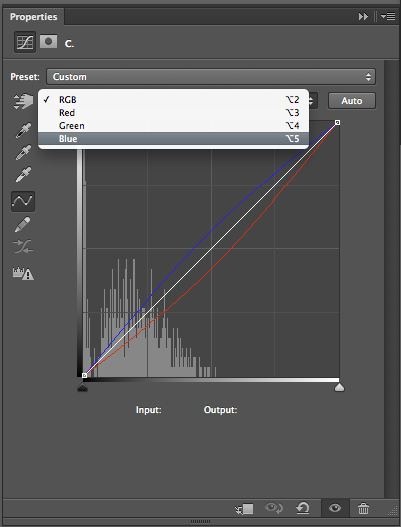 You can add as many of these coloured adjustment curves as you like.