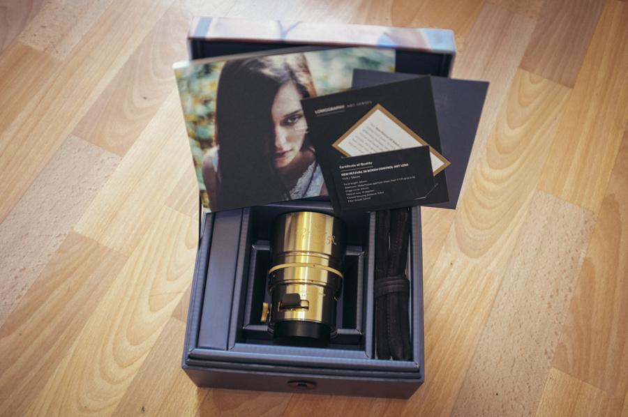 The lens box