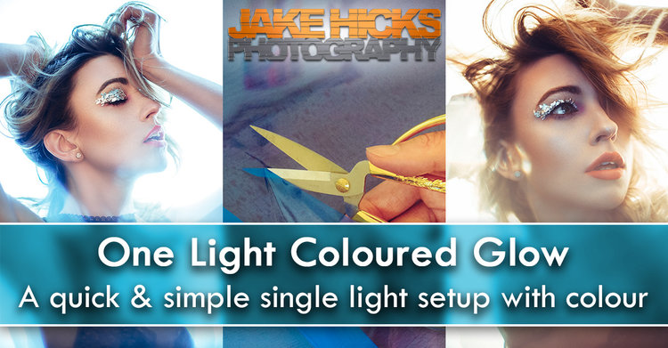 One Light Coloured Glow - A quick & simple single light setup with ...