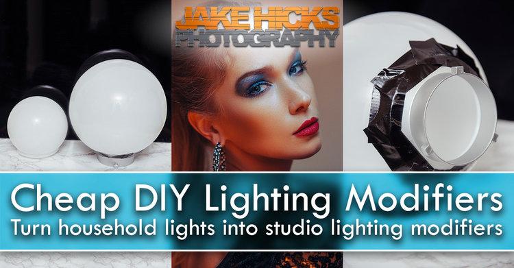 Cheap Diy Lighting Modifiers Turn Household Lights Into Studio