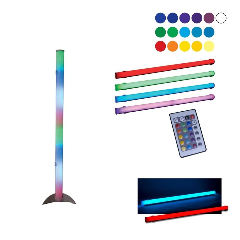 In the mood for a spot of school disco and nausea inducing colour rhythm presets? Grab yourself a prebuilt LED light stick.