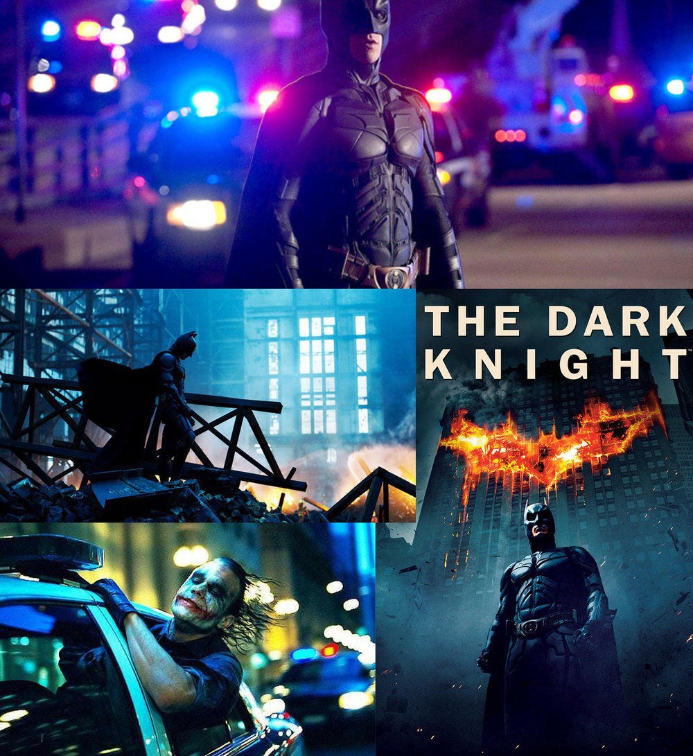 The Dark Knight directed by Christopher Nolan is one of the biggest films ever made. That success is in part due to the incredible cinematic use of colour within the darkness of this movie predominantly set in the dead of night.