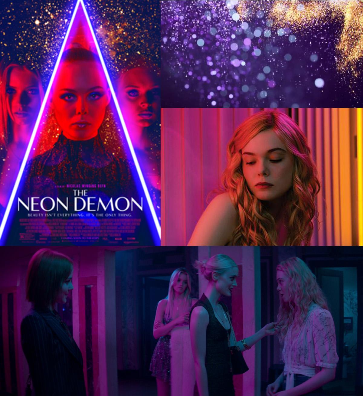 Neon Demon, một bộ phim khác của Nicolas Winding Refn và cho là một bộ phim sử dụng các màu sắc cực đoan để đặt tâm trạng và ngụ ý mưu đồ.