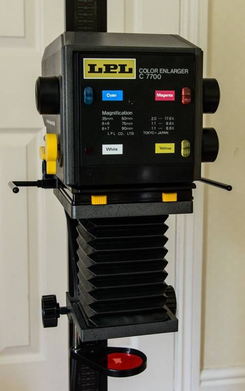 Photo of LPL C770 Colour Head Enlarger from Jon Cramp who is selling it  here