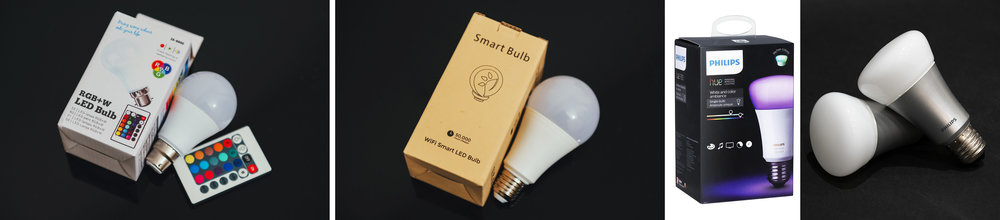 Next week I'll be testing three Coloured LED bulbs. I'll look at the cheap, basic model as well as a more reasonably priced one. And I'll also be looking at the more expensive and supposedly impressive Philips HUE bulb.