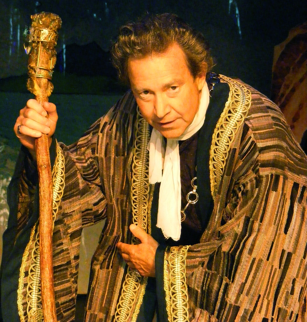 Ron Siebert as Prospero