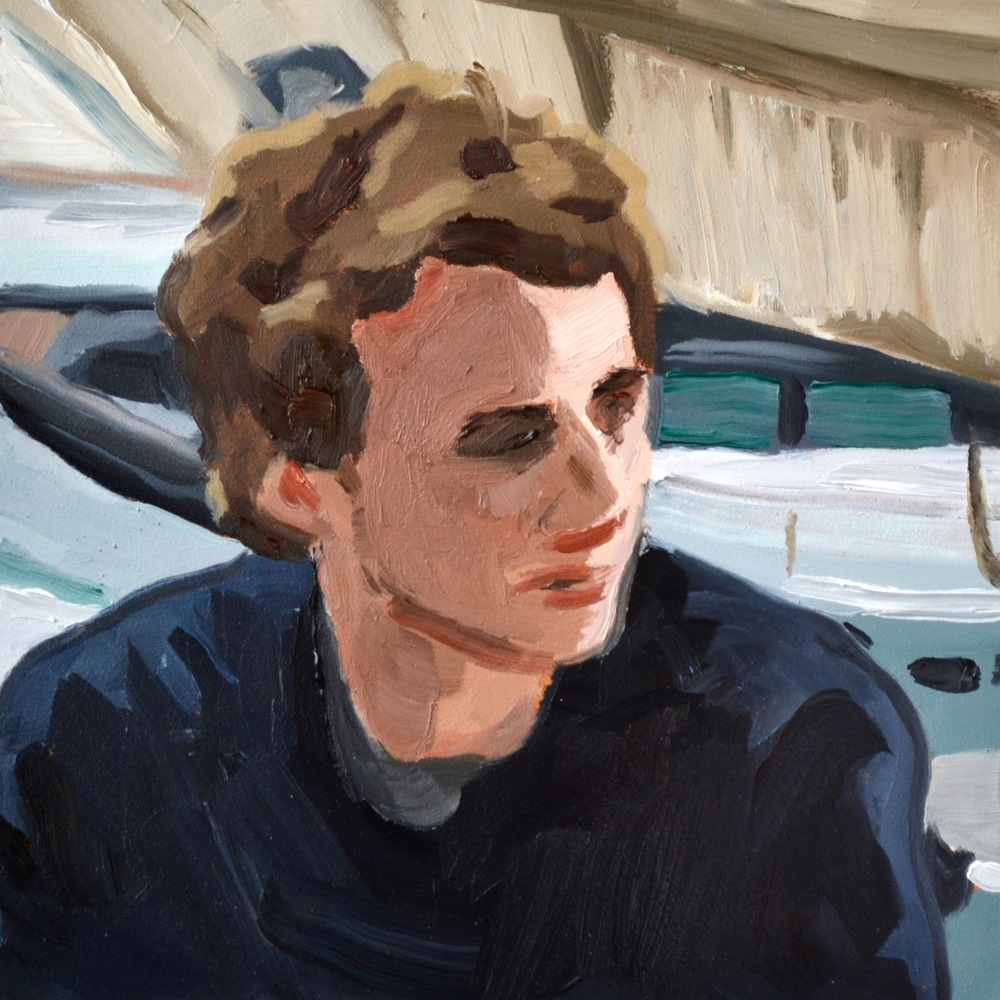 Avatar XX   - Oil on Board, 6 x 6 inches - 2015