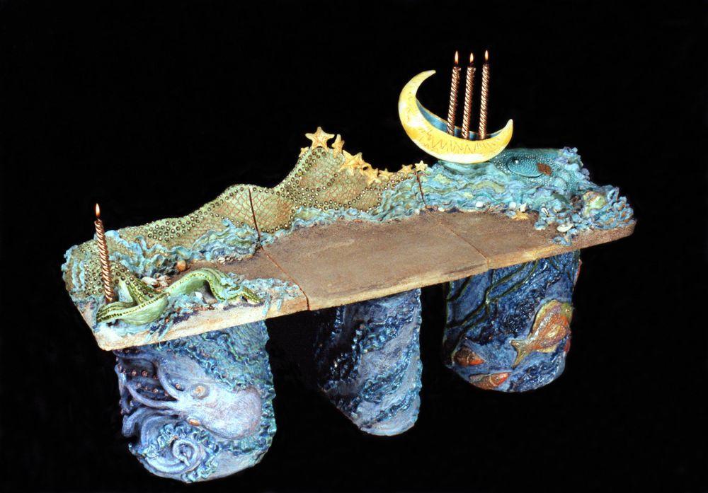Saint Luz of the Blessed Seas, Matron Saint of Moonbeams and Hidden Treasures / Santa Luz de los Mares Benditos, Santa Matrona de los Rayos de la Luna y los Tesores Escondidos