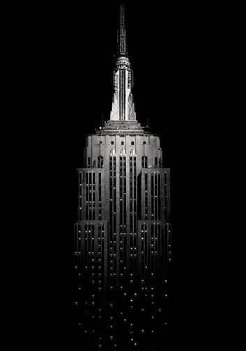 "New York  Empire State Building, 2008 - D-print  39.3"" x 27.5"" (100 x 70 cm)"