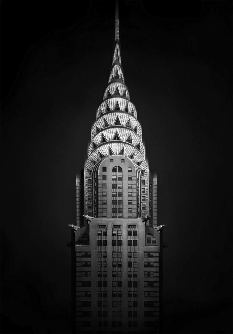 "New York  Chrysler Building, 2008 - D-print on rag paper  39.3"" x 27.5"" (100 x 70 cm)"