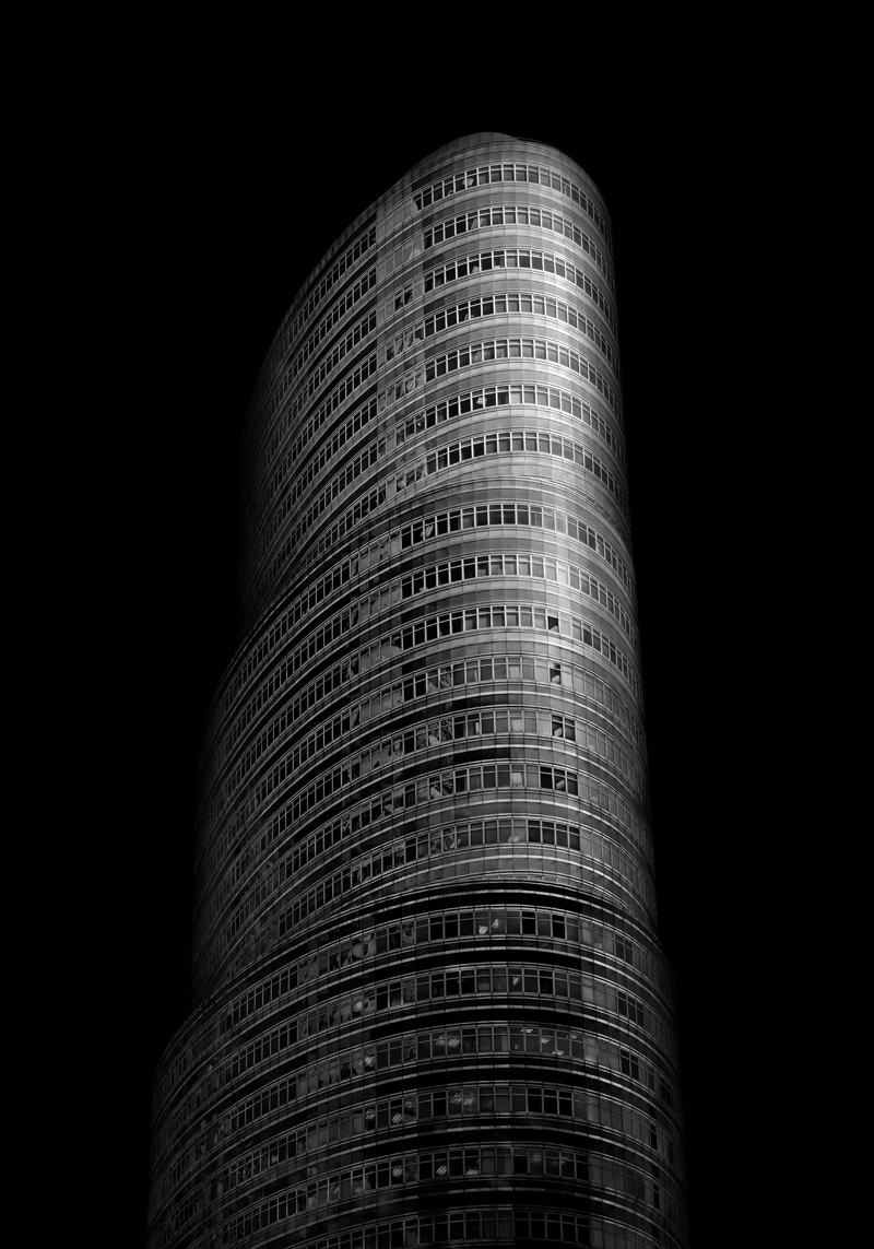 "New York  The Lipstick Building, 2011 - D-print on rag paper  39.3"" x 27.5"" (100 x 70 cm)"