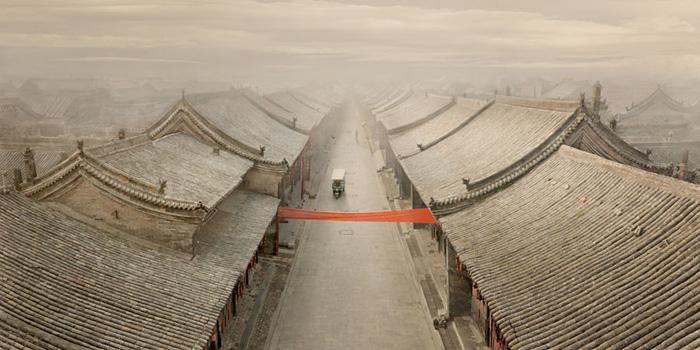"""China  Pingyao, 2012 - ed. of 8 - D-print  39.4"""" x 78.7"""" (100 x 200 cm)"""
