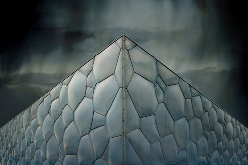 "China  Watercube Beijing, 2012 - ed. of 8 - D-print  39.4"" x 59"" (100 x 150 cm)"